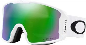 Oakley Line Miner Jade Snowboard/Ski Goggles, L Matte White