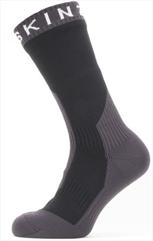 SealSkinz Extreme Cold Weather Mid Length Waterproof Socks, M Black