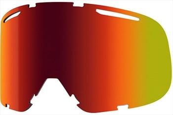 Smith Riot Snowboard/Ski Goggles Spare Lens, One Size, Red Sol-X