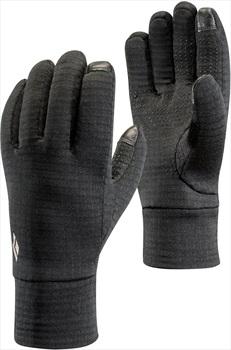 Black Diamond Heavyweight Wool Ski/Snowboard Liner Gloves, M Black