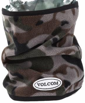 Volcom Adult Unisex Removable Neckband Snowboard/Ski Neck Warmer, O/S Army