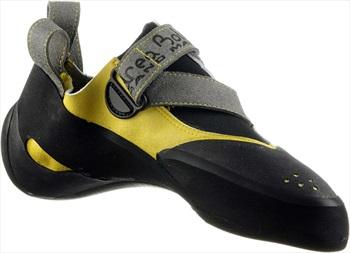 Andrea Boldrini Spider Rock Climbing/Bouldering Shoe, UK 8.5 Yellow
