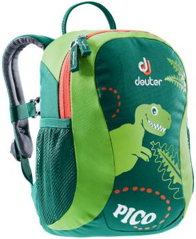 Deuter Pico Children's School Backpack, 5L Alpine Green-Kiwi