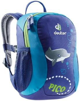 Deuter Pico Children's School Backpack, 5L Indigo-Turquoise