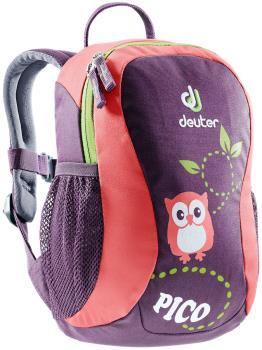 Deuter Pico Children's School Backpack, 5L Plum-Coral