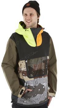 DC ASAP Anorak SE Ski/Snowboard Shell Jacket, L Camo/Opticool