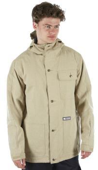 DC Servo Ski/Snowboard Insulated Jacket, S Twill