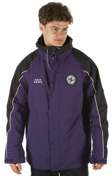 DC DCSC Coaches Ski/Snowboard Insulated Jacket, XL Grape