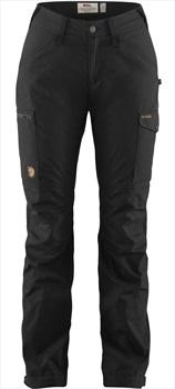 Fjallraven Kaipak Curved Women's Hiking Trousers, 42 Black