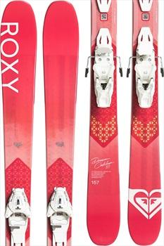 Roxy Dreamcatcher 85 Lithium 10 Women's Skis, 173cm Pink 2020
