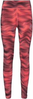 Odlo Essential Soft Print Women's Running Leggings, UK 8-10 Siesta