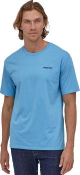 Patagonia Wild Home Waters T-Shirt, M Lago Blue