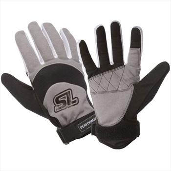 Straight Line Performance Amara Watersports Gloves, XL, Grey Blue