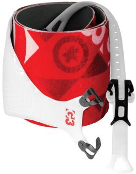 G3 Alpinist Universal+ 145mm Climbing Skins Pair, Large Red/White