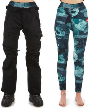 686 Smarty Cargo 3-In-1 Women's Ski/Snowboard Pants, XS Black