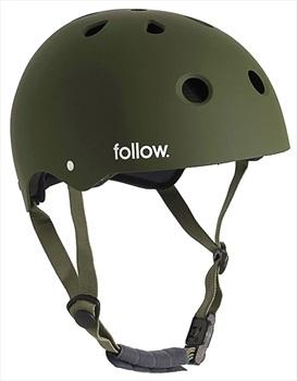 Follow Pro Watersports Helmet, Medium Olive 2020