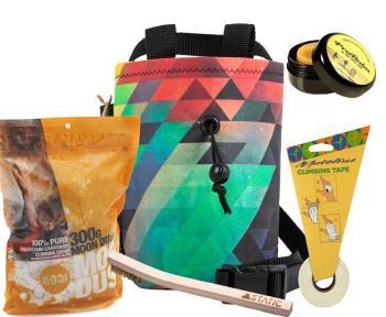 The Full Works Climbing Gift Set : 5 Item Set Lo-Fi, ProBalm
