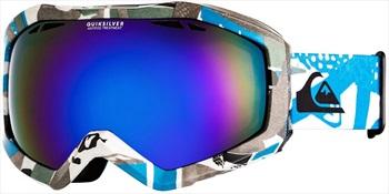 Quiksilver Fenom Art Series ML Blue Ski/Snowboard Goggles, S/M Lyons