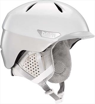 Bern Weston Peak Ski/Snowboard Helmet, S Satin White Two-Tone