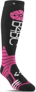 thirtytwo W'S B4BC Women's Snowboard/Ski Socks, L/XL Black