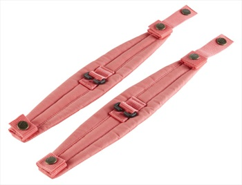 Fjallraven Kanken Backpack Shoulder Pads, One Size Peach Pink
