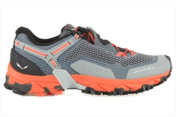 Salewa Ultra Train 2 Women's Trail Running Shoes, UK 4.5 Grey/Pink