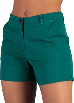 3rd Rock Mary Women's Organic Cotton Climbing Shorts, L Spirulina