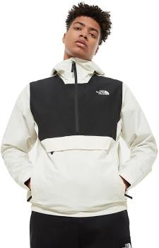 The North Face Packable Waterproof Fanorak Jacket, S White