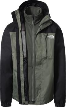 The North Face Quest Zip-In Triclimate 3-in-1 Jacket, M Thyme/Black