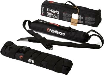 Northcore D-Ring Single Soft Roof Rack, Black