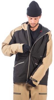 Bonfire Cache 3-in-1 Map Stretch Ski/Snowboard Jacket, M Black