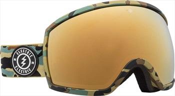 Electric Egg Brose Gold Snowboard/Ski Goggles, L Camo