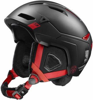 Julbo The Peak Snowboard/Ski Helmet, M Black/Red/Grey