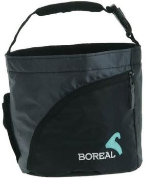 Boreal Boulder Rock Climbing Chalk Bag, Black/Grey