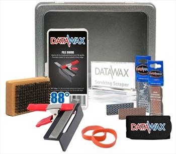 DataWax Tune Kit Advance Ski/Snowboard Servicing Tin, Os