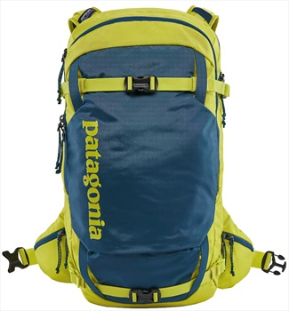 Patagonia SnowDrifter Ski/Snowboard Backpack 20L L/XL Crater Blue
