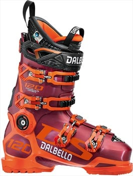 Dalbello DS 120 Ski Boots, 25.5 Red/Orange 2019