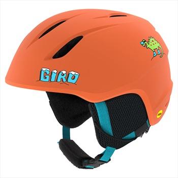 Giro Child Unisex Launch Kids Ski/Snowboard Helmet, Xs Matte Deep Orange Dinosnow