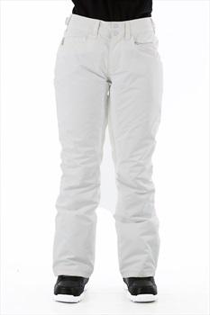 Roxy Backyard Women's Ski/Snowboard Pants, L Bright White