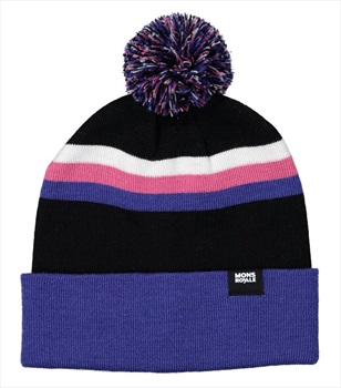 Mons Royale Pom-Pom Beanie Bobble Hat, One Size Ultra Blue/Black