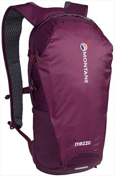 Montane Adult Unisex Mezzo Lightweight Day Pack/Backpack, 10l Saskatoon Berry