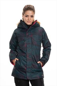 686 Dream Womens Snowboard/Ski Jacket, S Deep Teal Blanket