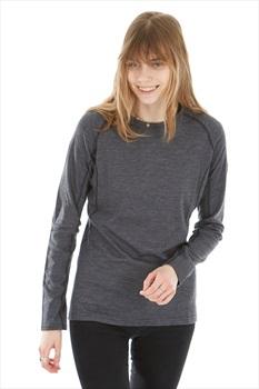 Montane Primino 220 Long Sleeve Women's Merino T-Shirt, L Black
