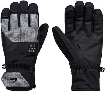 Quiksilver Gates Ski/Snowboard Gloves, L Black