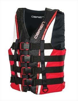 O'Brien 4 Buckle Pro Nylon CE Buoyancy Vest M Red