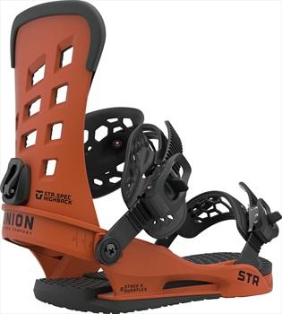 Union Str Snowboard Binding, M Burnt Orange 2021