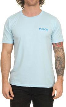 Kavu Adult Unisex Klear Short Sleeve T-Shirt, S Light Blue