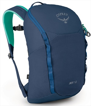 Osprey Jet 12 Children's Backpack, 12L Wave Blue