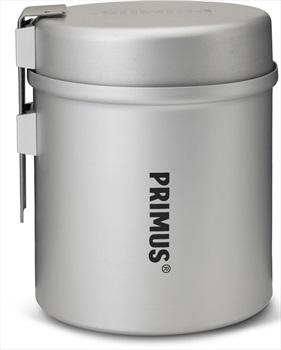 Primus Essential Trek Pot Lightweight Camping Cookware, 1L Grey