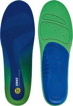 Sidas Comfort 3D Boot/Shoe Insoles, XS Blue/Green